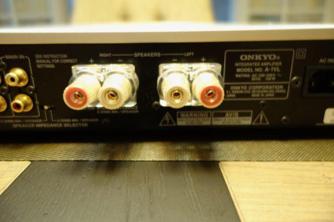 Onkyo A1VL Borniers HP